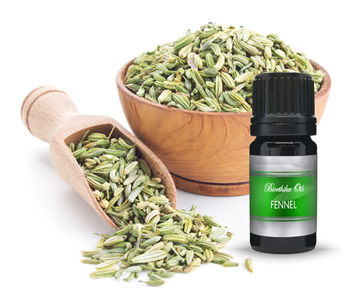Fennel  Essential Oil, 5 ml. Distilled from Biodynamically Grown Plants